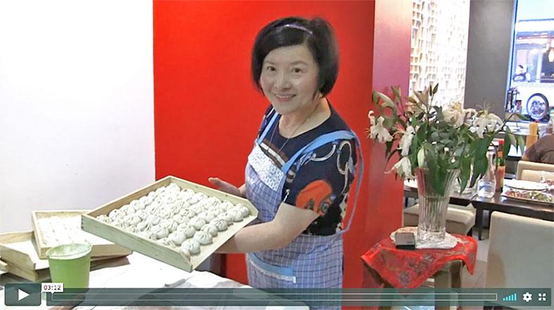 lien vers la vidéo de li Fang et sa recette de brioche vapeurt